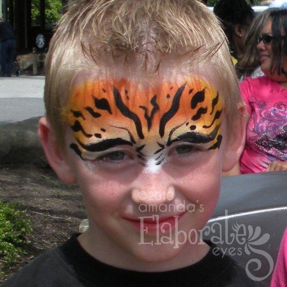 Top half Tiger