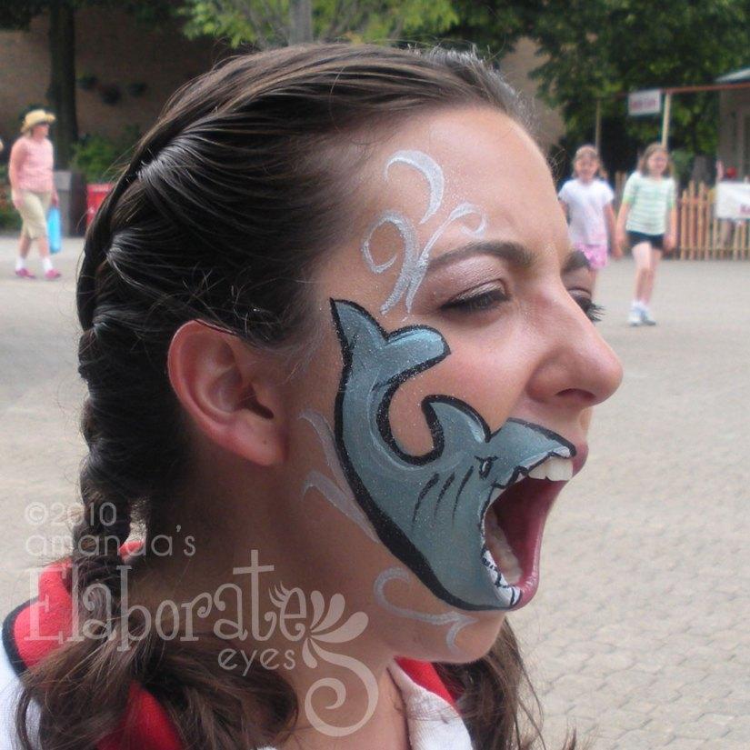Hungry Shark Face