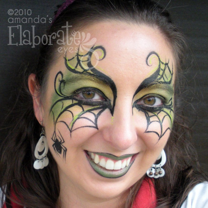 Spider Woman Eyes