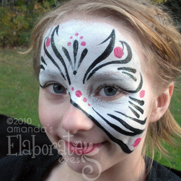 Deco Stripe Mask