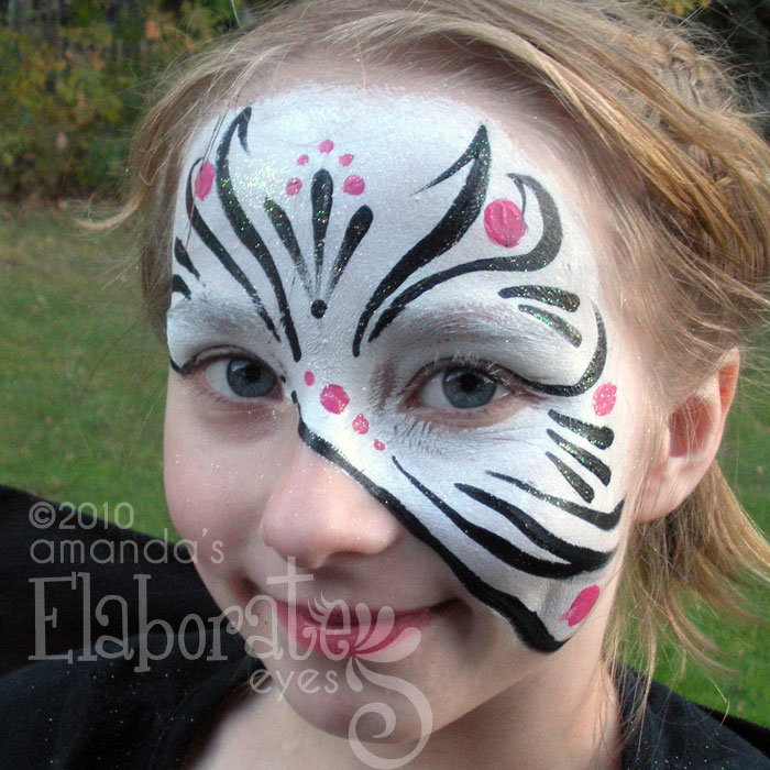 Deco Stripe Mask