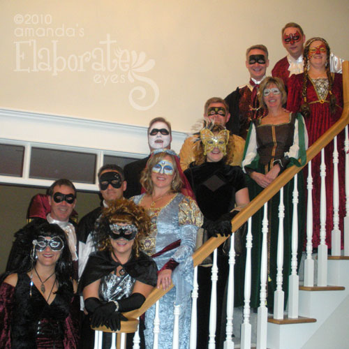 Masquerade Ball Guests
