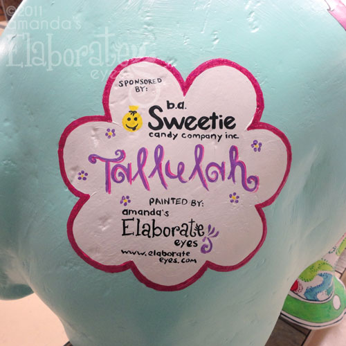 Tallulah Sponsored by Sweeties Candy