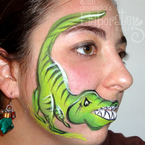 Face Painting Zoo Animals http://elaborateeyes.com/category/animal-face-painting-designs/page/2/
