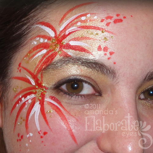 animal face painting designs amanda 39 s elaborate eyes On latest face painting designs