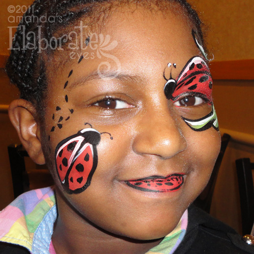 Heros & Villians Face Painting Designs | Amanda's ...