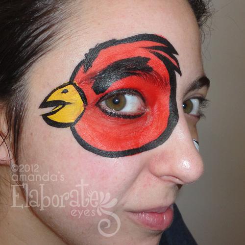 Hello Kitty Amandas Elaborate Eyes Face Body Painting