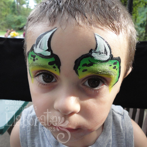 Animal Face Painting Designs | Amanda's Elaborate Eyes ...