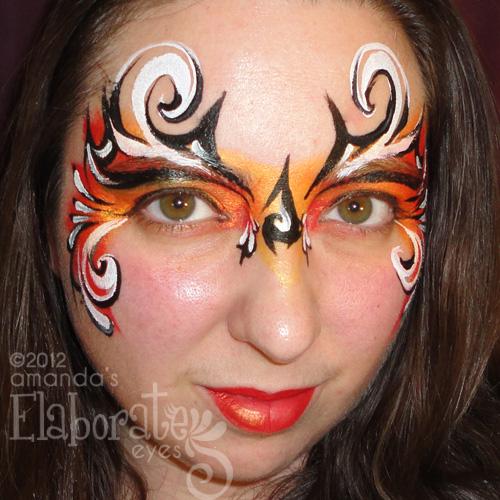 Mask designs amandas elaborate eyes face body painting fierce mask solutioingenieria Choice Image