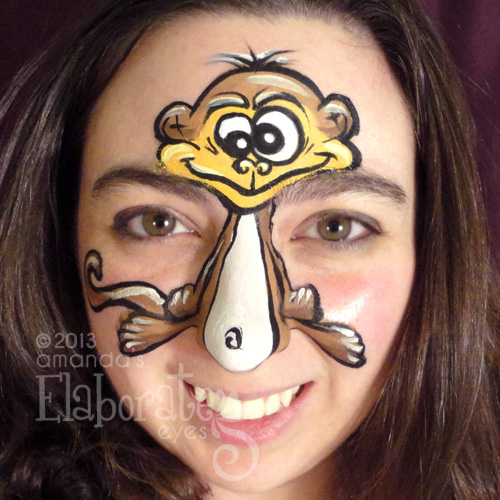 animal face painting designs amanda s elaborate eyes face body