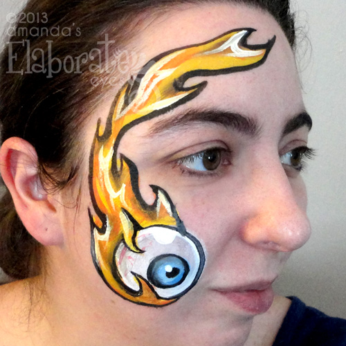 Flaming Eyeball