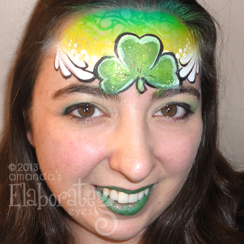 Shamrock headpiece