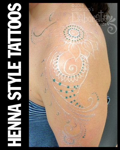 Henna Style Tattoo S Amanda S Elaborate Eyes Face Body Painting