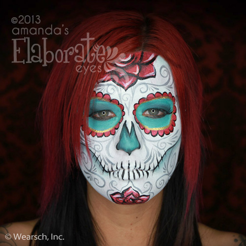Amanda Zombie 1  sc 1 st  Amandau0027s Elaborate Eyes Face u0026 Body Painting : intricate halloween costumes  - Germanpascual.Com