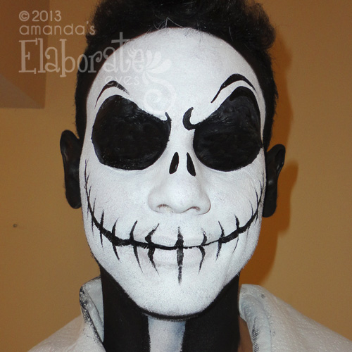 Day Of The Dead Amandas Elaborate Eyes Face amp Body Painting
