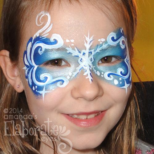 Snowflake Mask