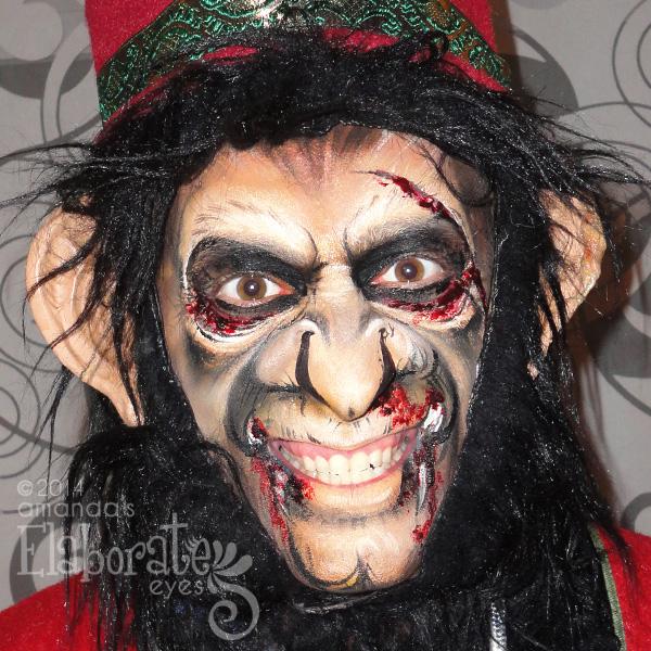 rabid monkey