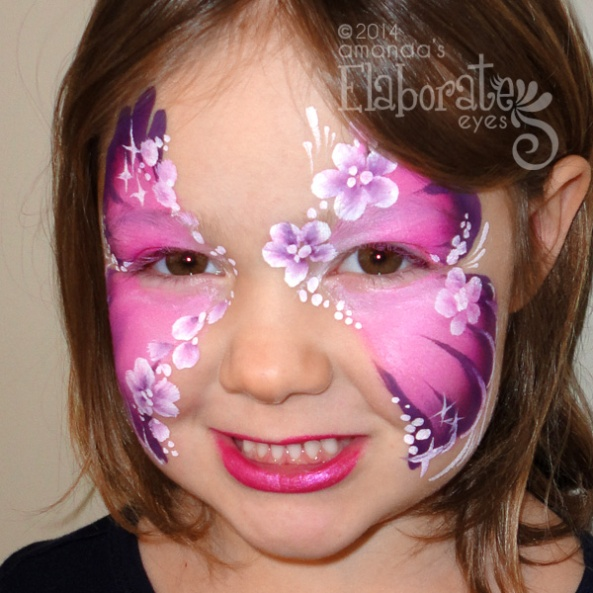 Animal face painting designs amandas elaborate eyes face body fantasy cat flutter garden ninja turtle solutioingenieria Gallery