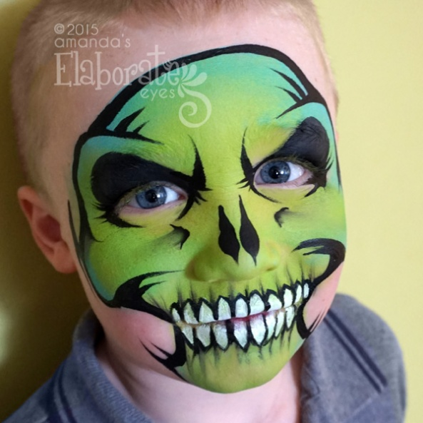 Boy Face Painting Designs Amandas Elaborate Eyes Face Body Painting