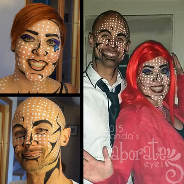 Halloween face painting amandas elaborate eyes face body painting people like to get dressed up too and want me to help them so here you go my halloween 2015 roundup alot less gore this year but alot more fun solutioingenieria Choice Image